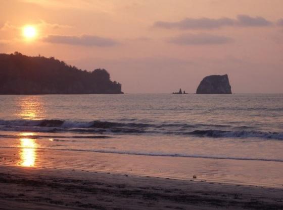 Playa de Atacames en Esmeraldas