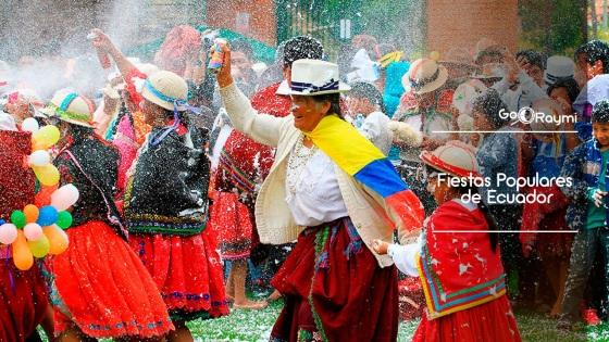 Fiestas Populares En El Ecuador