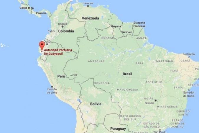 Ubicacion De Ecuador