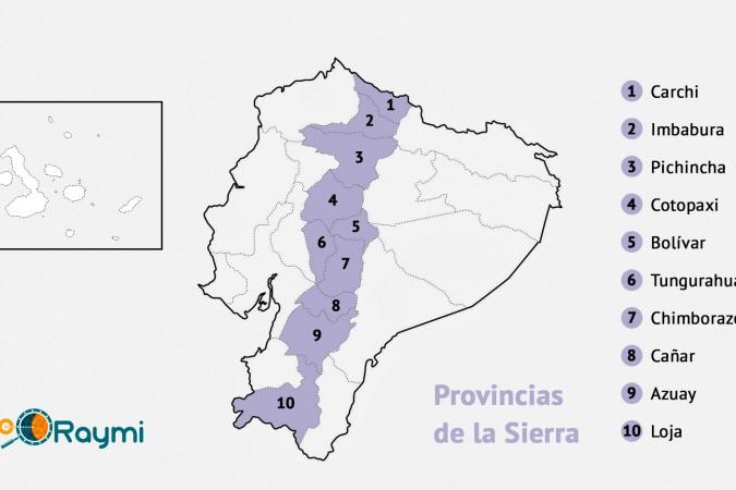Provincias De La Sierra Del Ecuador