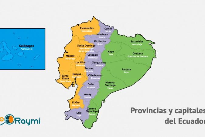 4663 3 Km Mapas Ecuador Provincias Y Capitales Del Ecuador