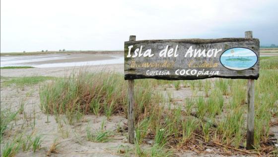 Isla del Amor en Cojimíes